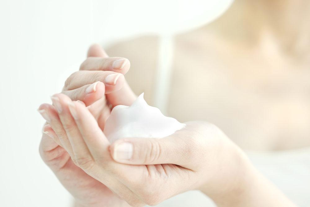 酵素洗顔の泡