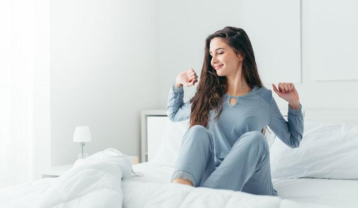 飲むタイミングは自由、安眠効果を狙うなら寝る前が効果的