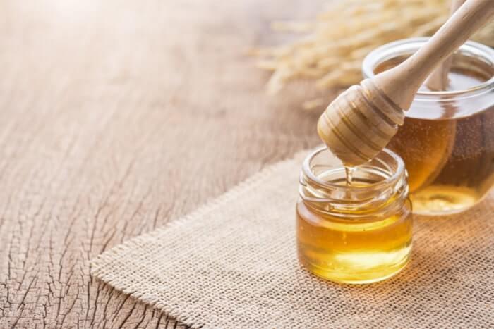 乾燥を防ぐ+ハチミツ