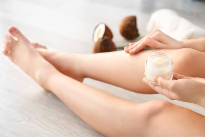 美容ケアとして使用から期待できるココナッツオイルの効果・効能