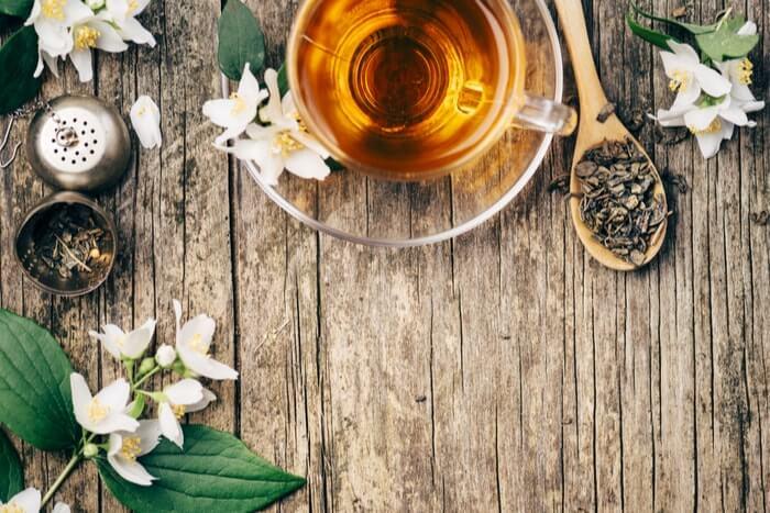 ジャスミン茶が持つダイエット、美肌効果
